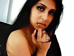 Killergram Hot Indian Miya Rai takes big cock cream pie