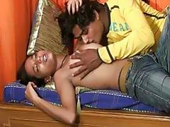 Hot sex interview for cute indian girl and her boy